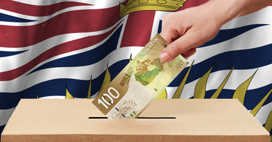 Wealthy Elites are Funding the Opposition to BC's Electoral Reform Referendum, New Filings Show