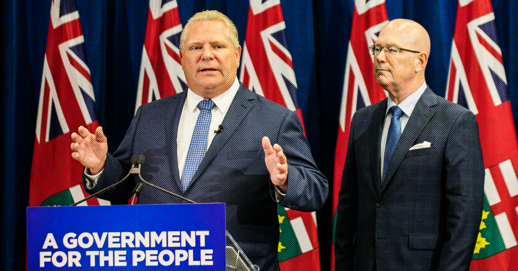 Doug Ford is Quietly Planning Over $100 Million in Cuts to Housing and Rent Support Programs