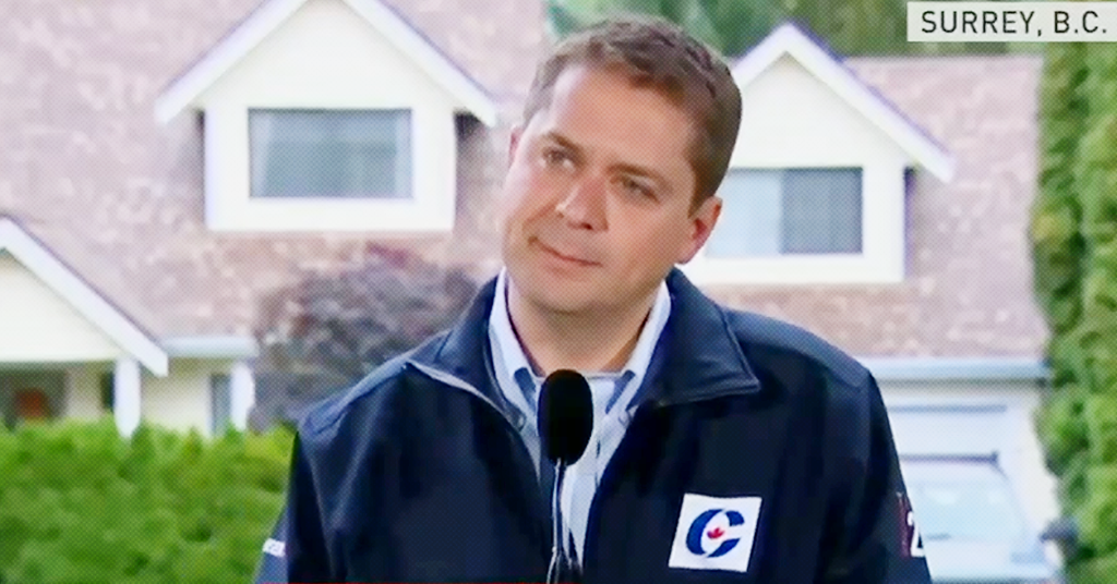 Conservative Leader Andrew Scheer Refuses to Apologize For Comparing Same-Sex Marriage to a Dog