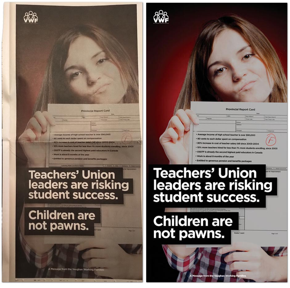 Developer With Links To Fake Parents Group Lobbied Ford Government Following Anti Teacher Attack Ads