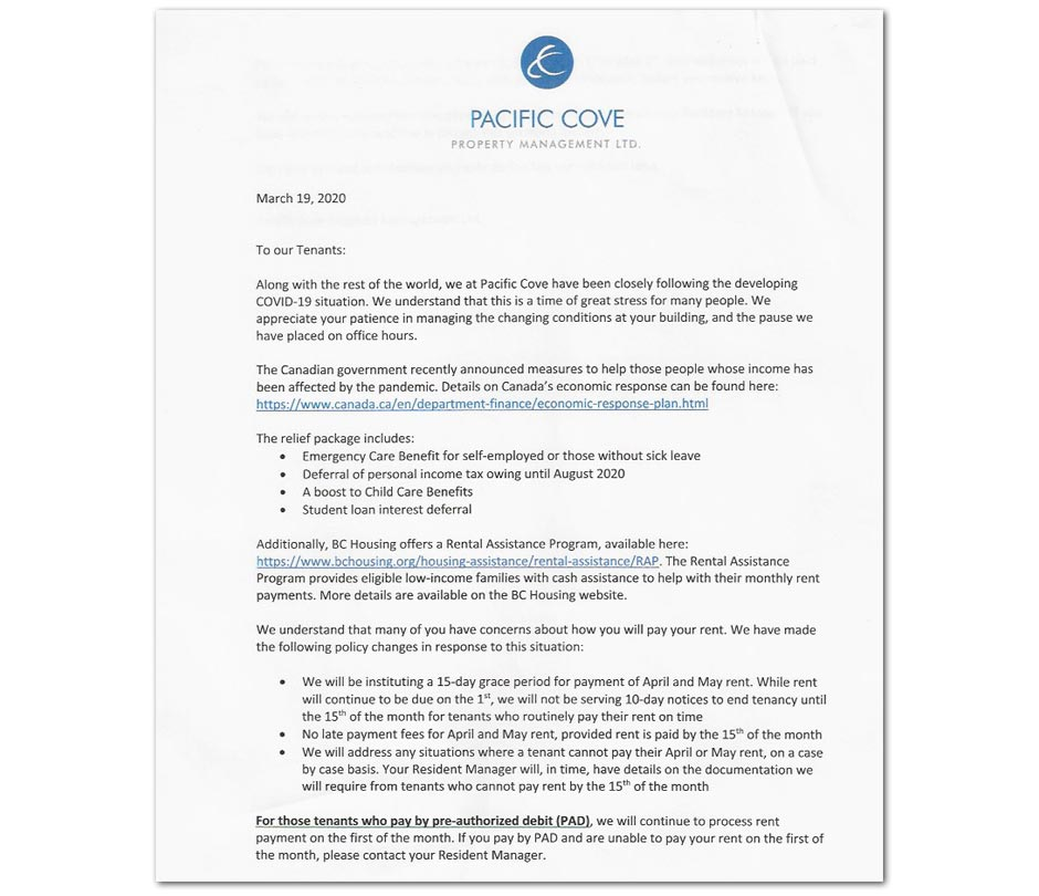 Demand Letter For Rent from pressprogress.ca