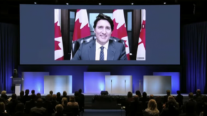 TRUDEAU AT conference