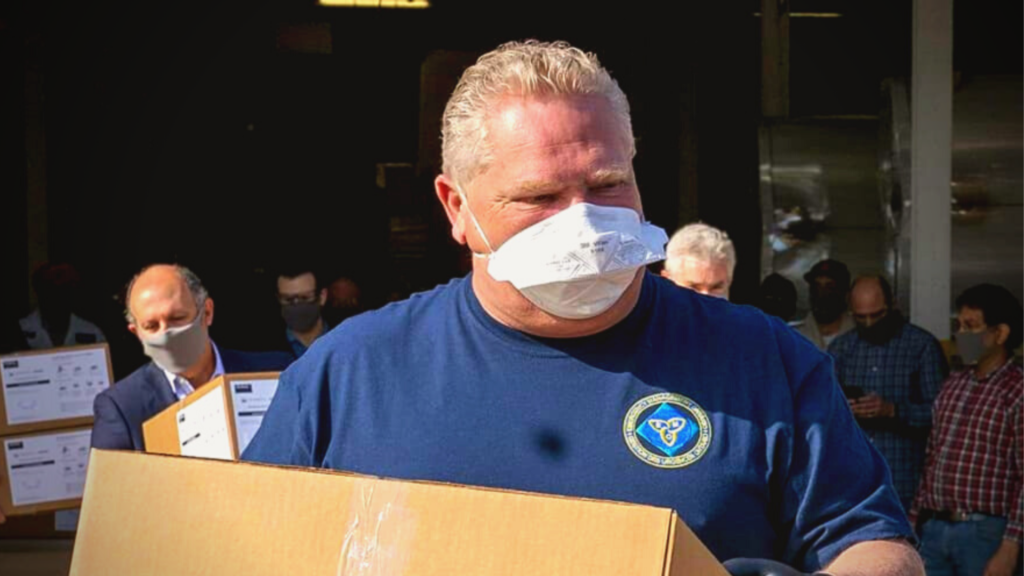 Ford government mandate empowers hospitals, long-term care homes to 'deny' healthworkers N95 masks